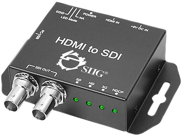 SIIG HDMI to 3G-SDI Converter CE-SD0311-S1