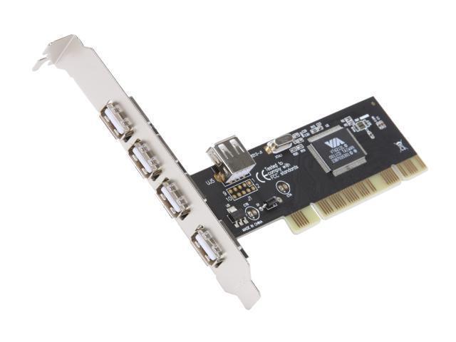 ENCORE 5 Port USB2.0 PCI Card Model ENLUSB2-5PCI-BR