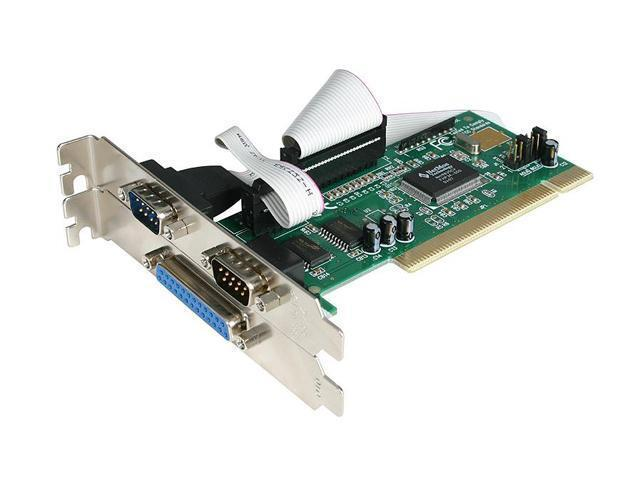 StarTech PCI2S1P Serial Parallel Combo Card with 16550 UART