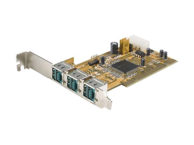 StarTech 3 Port PCI 12V Powered USB Card Model PCI312PUSB