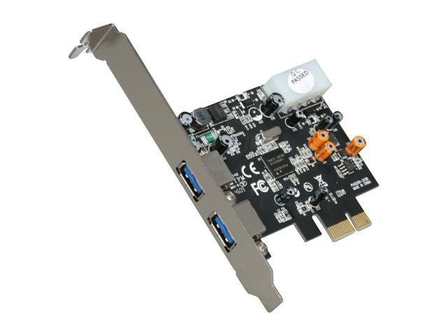 StarTech 2 Port PCI Express SuperSpeed USB 3.0 Card Adapter Model PEXUSB3S2