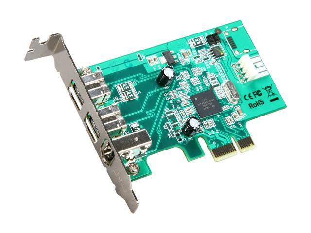 StarTech Add-On Card Model PEX1394B3LP