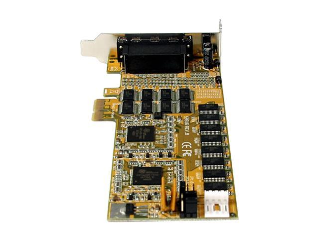 StarTech.com PEX16S952LP 16 Port Low Profile RS232 PCI Express Serial Card - Cable Included