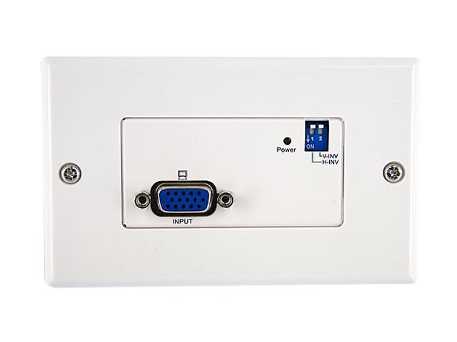 StarTech STUTPTXWAL VGA Wall Plate Video Extender Transmitter over Cat 5