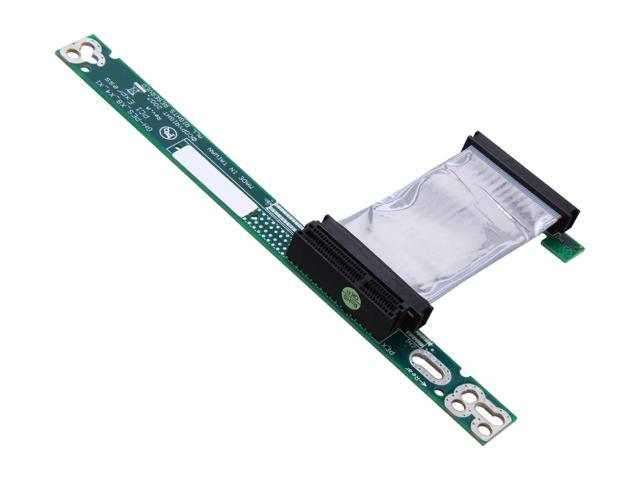 StarTech PCI Express x4 Left Slot Riser Adapter Card with 7cm Flexible Cable Model PEX4RISERF