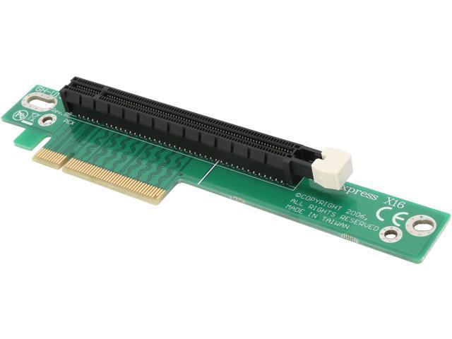 StarTech.com PCI Express Riser Card x8 to x16 Left Slot Adapter for 1U Servers (PEX8TO16R)