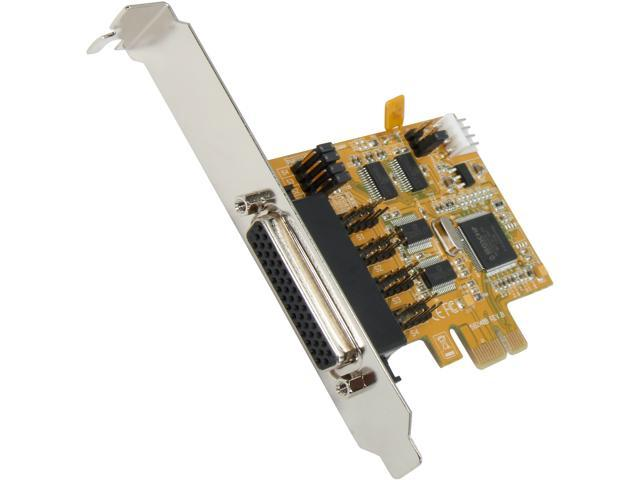 StarTech 4 Port PCIE 921.6KBPS High Speed RS232 Serial Card Model PEX4S553S