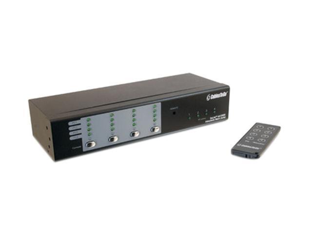 C2G 39974 TruLink 4x4 UXGA Video Matrix Switch with 3.5mm Audio