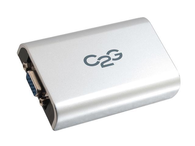 C2G 30545 USB to VGA Adapter Up To 1920 x 1080