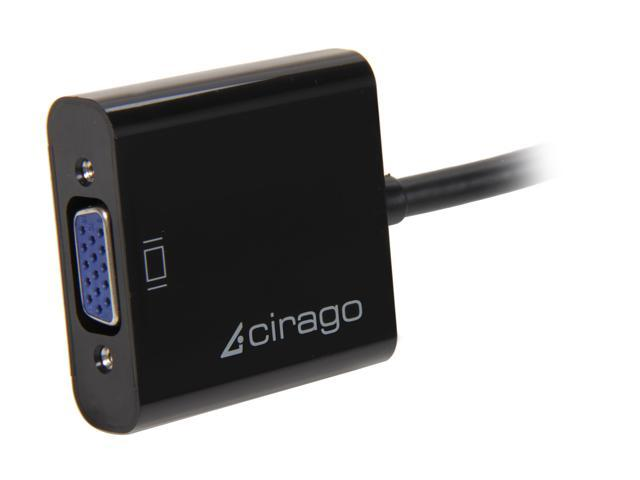Cirago DPA1011 DisplayPort to VGA (HD-15) Adapter