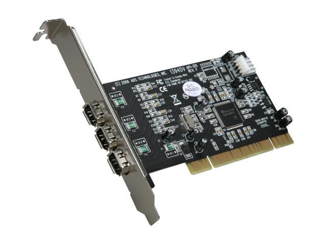 ADS Tech PYRO PCI 64R2 3 Ports Firewire PCI Card Model API-315