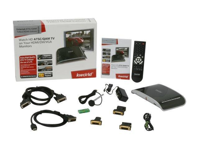 KWorld External ATSC/QAM TVBox HDMI Edition SA295-Q DE DVI Interface