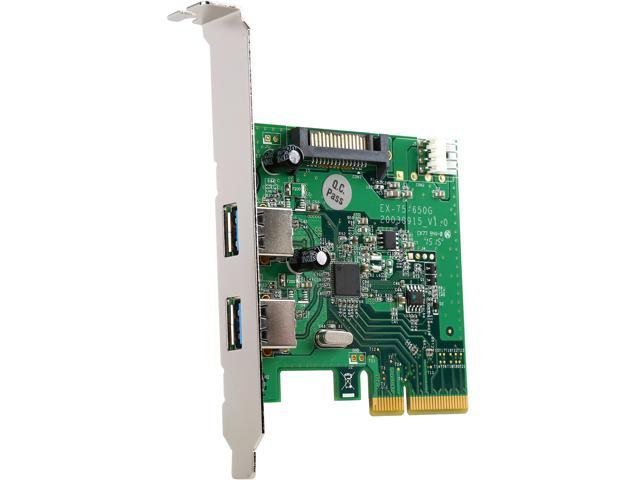 VANTEC 2-Port USB 3.1 Gen II Type-A PCIe Host Card Model UGT-PC370A