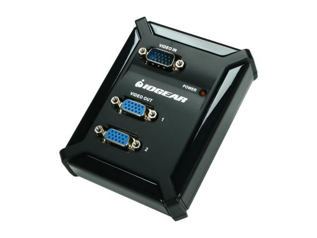 IOGEAR GVS62 2-Port VGA Video Splitter