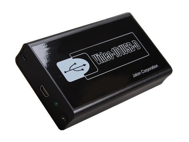Jaton USB 2.0 to DVI-I External Video Card Adapter VIDEO-101USB -D