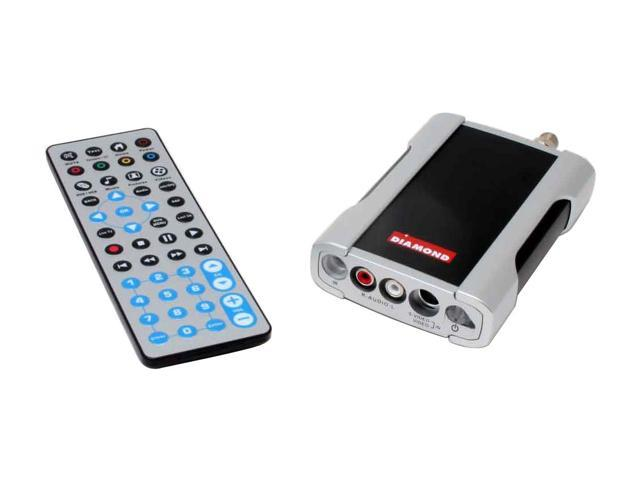 DIAMOND XtremeTV PVR660 TV Tuner with Remote Control PVR660RCUSB USB 2.0 Interface