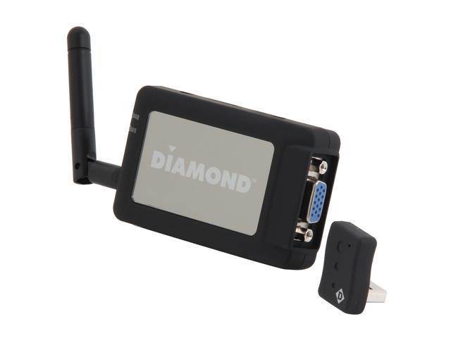 DIAMOND V-Stream Wireless WPCTVPRO PC to TV 1080P HDMI / VGA Interface