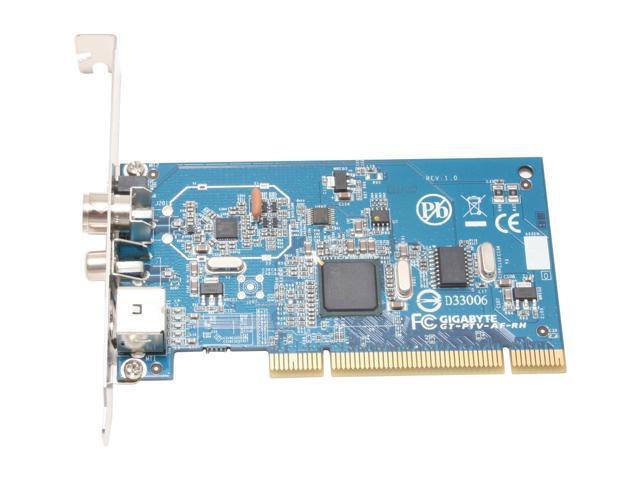 GIGABYTE TV Tuner Card GT-PTV-AF-RH PCI Interface
