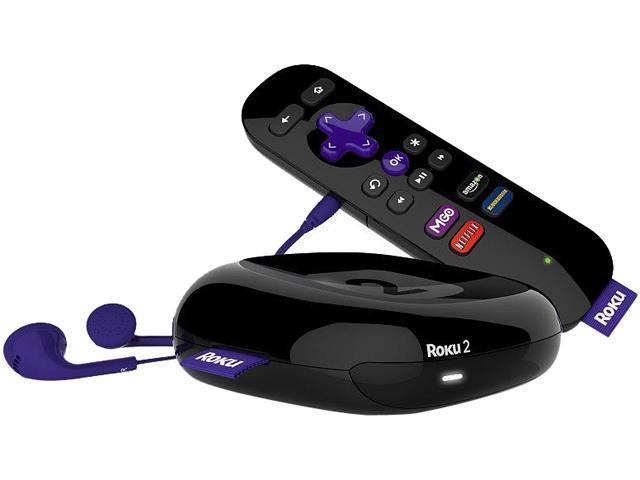 Roku 2 Streaming Player (2720X-B) - Certified refurbished