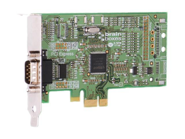 Brainboxes 1 Port RS232 Low Profile PCI Express Serial Card Model PX-235-001