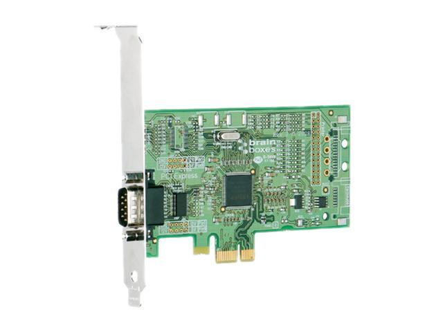 Brainboxes 1 Port RS232 PCI Express Serial Card Model PX-246