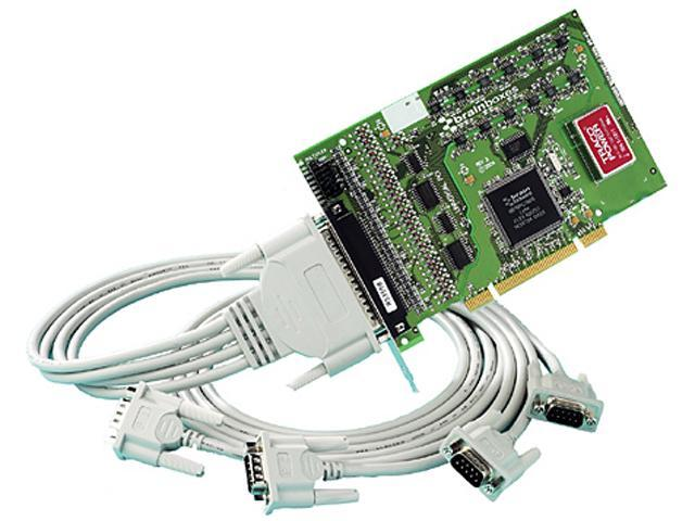Brainboxes 4 Port RS422/485 PCI Serial Port Card With Opto Isolation Model UC-368