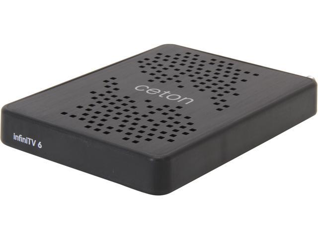 Ceton InfiniTV 6 ETH – Six-Tuner CableCARD Ethernet Network Tuner for Win7 and Win8 PC 5504-DCT06EX-ETH