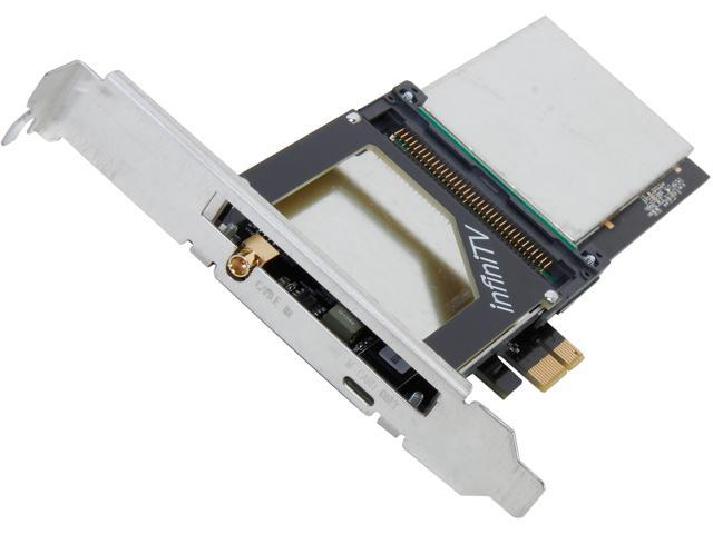 Ceton InfiniTV 6 PCIe - 5205-DCT06IN-PCIE - Six-tuner Card for Watching Digital Cable TV on the PC, PCI-Express x1 Interface