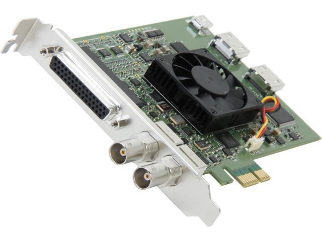 Blackmagicdesign DeckLink Studio 2 SD/HD Video Card with SDI, HDMI & Analog Connections BDLKSTUDIO2