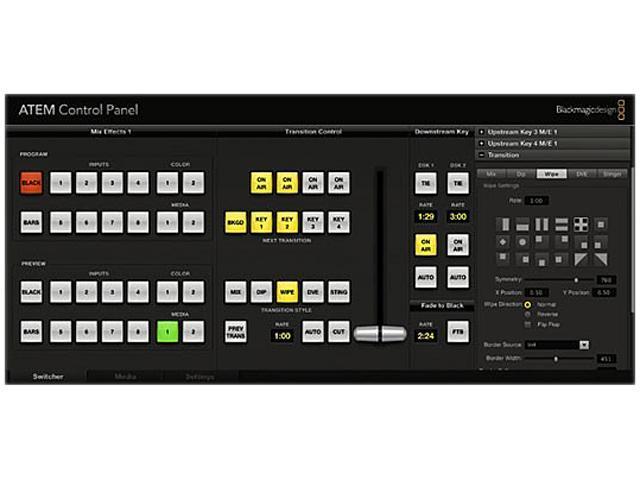 Blackmagic Design ATEM 2 M/E Broadcast Panel SWPANEL2ME