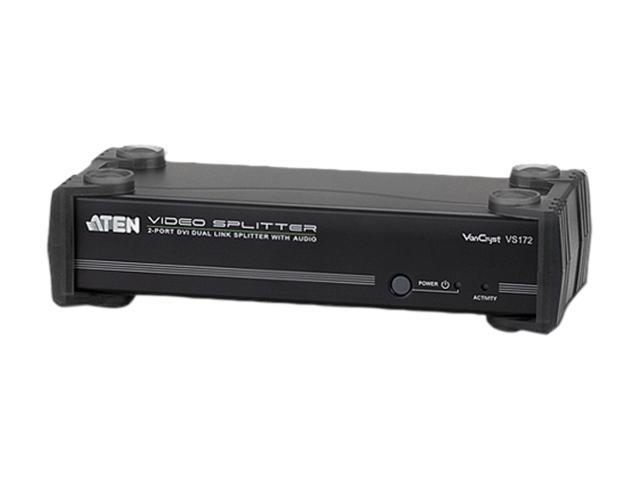 ATEN 2-Port DVI Dual Link Splitter with Audio VS172