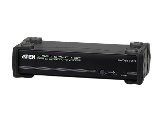 ATEN 4-Port DVI Dual Link Splitter with Audio