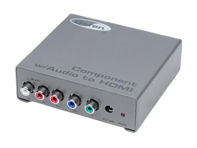 Gefen Component Audio to HDMI Adapter EXT-COMPAUD-2-HDMIN