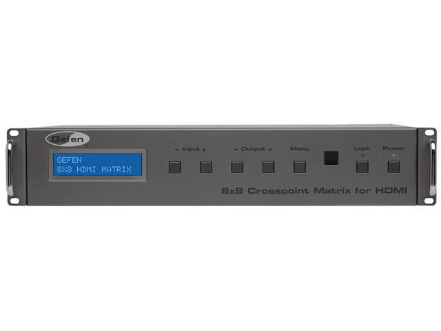 Gefen 8x8 Crosspoint Matrix for HDMI EXT-HDFST-848CPN