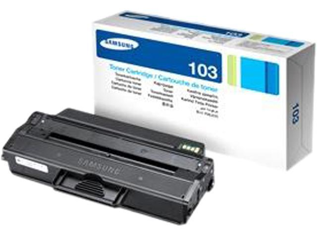 SAMSUNG MLT-D103S/XAA Toner Cartridge, 1500 Page Yield; Black