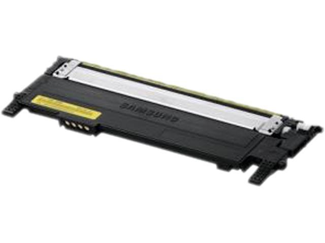 SAMSUNG CLT-Y406S/XAA Toner Cartridge 1,000 Page Yield; Yellow