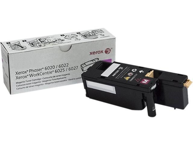XEROX 106R02757 Toner Cartridge 1,000 Page Yield; Magenta