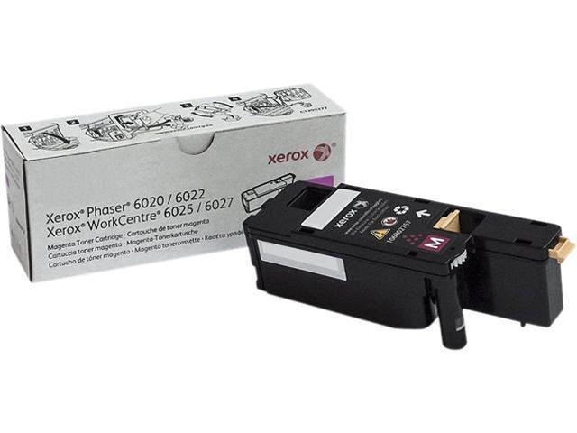 XEROX 106R02757 Toner Cartridge 1,000 Page Yield; Magenta