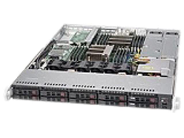SUPERMICRO SYS-1027R-WC1R 1U Rackmount Server Barebone Dual LGA 2011 Intel C602J DDR3 1866/1600/1333/1066/800