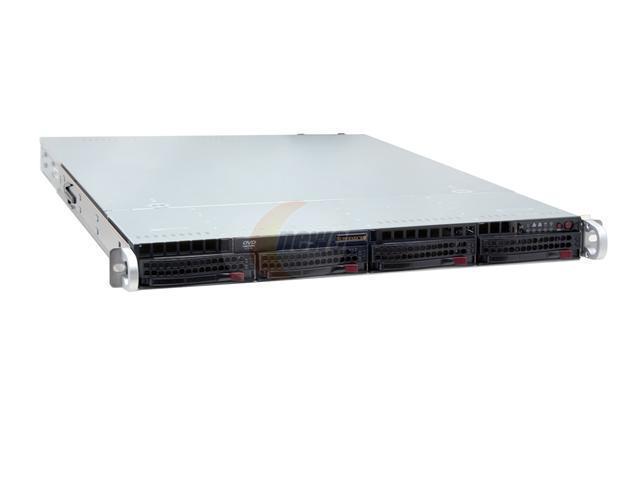 SUPERMICRO SYS-5015M-URB 1U Rackmount Barebone Server LGA 775 Intel 3010 DDRII 667/533