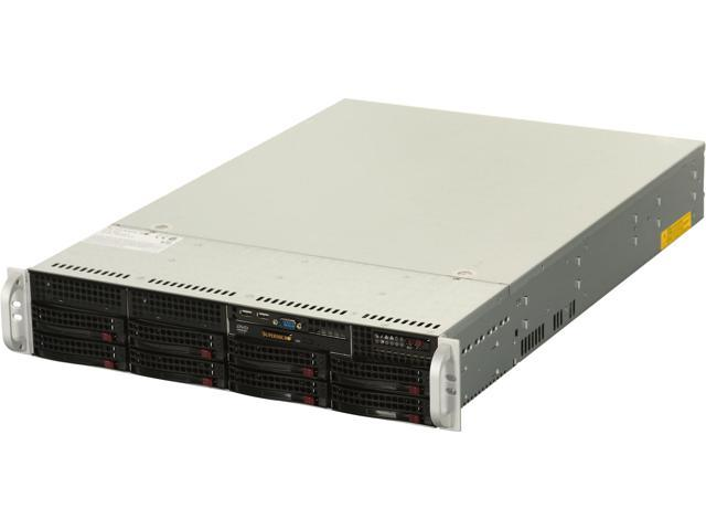 SUPERMICRO SYS-6026T-NTR+ 2U Rackmount Server Barebone Dual LGA 1366 Intel 5520 DDR3 1333/1066/800