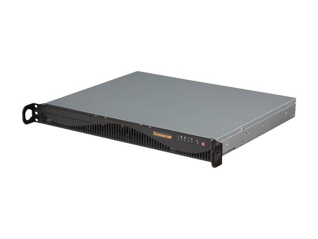 SUPERMICRO SYS-5017C-MF 1U Rackmount Server Barebone LGA 1155 Intel C202 DDR3 1333/1066/800