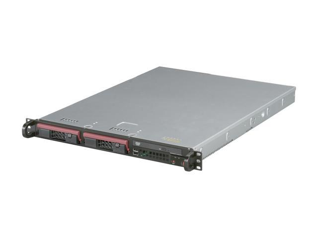 SUPERMICRO SYS-5017C-TF 1U Rackmount Server Barebone LGA 1155 Intel C204 DDR3 1600/1333/1066/800