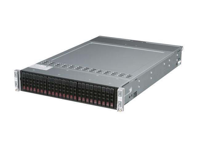 SUPERMICRO SYS-2015TA-HTRF 2U Rackmount Server Barebone (8 Nodes) DDR3 800