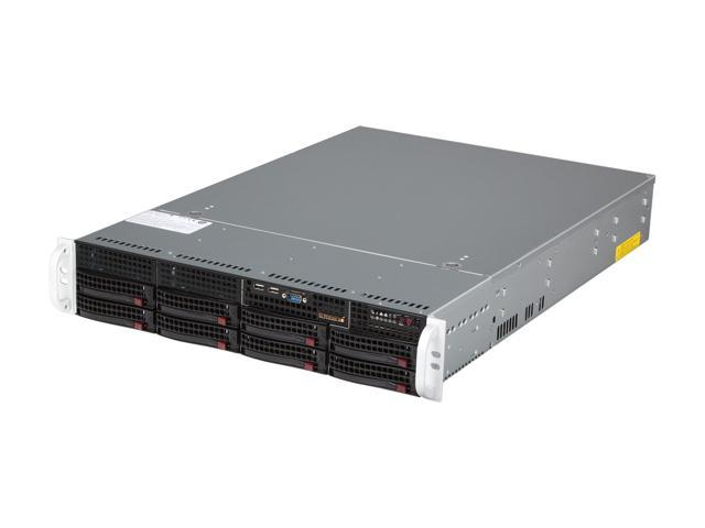 SUPERMICRO SYS-6027R-3RF4+ 2U Rackmount Server Barebone Dual LGA 2011 Intel C606 DDR3 1600/1333/1066/800