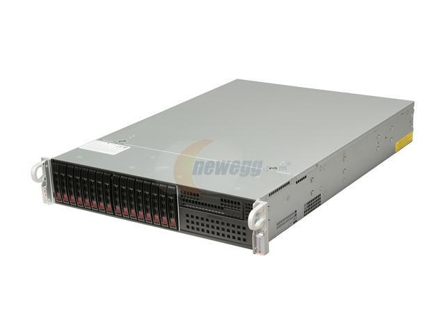 SUPERMICRO SYS-2027R-WRF 2U Rackmount Server Barebone Dual LGA 2011 Intel C602 DDR3 1600/1333/1066/800