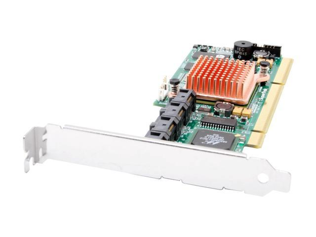 PROMISE SuperTrak EX8300 PCI-X SATA II RAID Controller Support RAID levels 0, 1, 5, 6, 10, 50 and JBOD