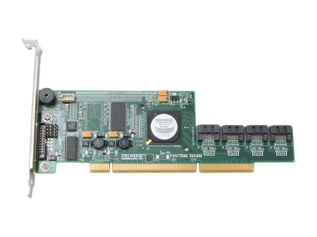 PROMISE FastTrak SX4300 PCI-X SATA II (3.0Gb/s) Controller Card