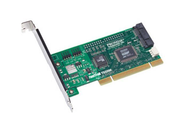 PROMISE FASTTRAKTX2300ROHS PCI Low Profile SATA 2-Port SATA RAID Adapter