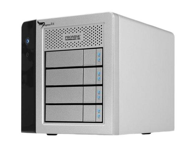 PROMISE Pegasus R4 RPR401US 4-Bay RAID Enclosure (4TB)